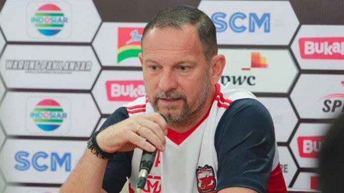 Bhayangkara FC VsMadura United,Pelatih Dejan Antonic Sedih Banyak Pemain yang Absen Tampil