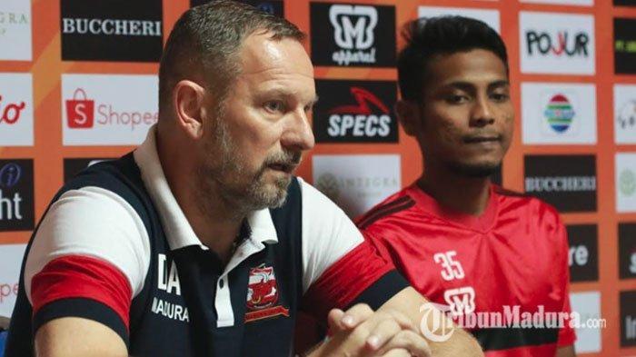Madura United Tahan Imbang Persib Bandung,Dejan Antonic Syukuri Poin 1 dari Bandung