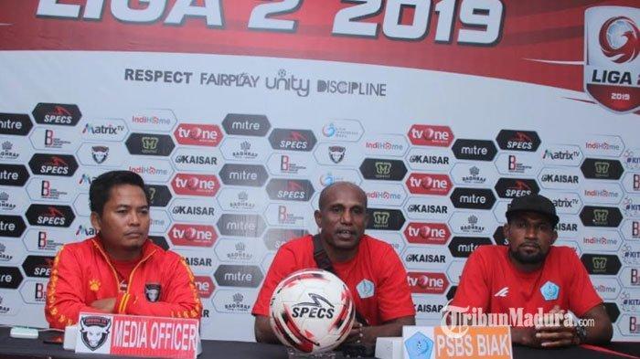 PSBS Biak Tak Patok Target Tinggi Saat Lawan Madura FC, Akui Madura FC Selalu Tampil Apik