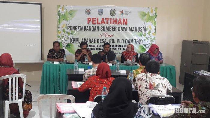 Bahas Isu Stunting, TPID Kecamatan Kota Sumenep Gelar Pelatihan Inovasi untuk Perangkat Desa dan KPM