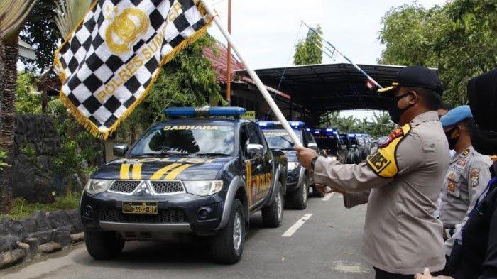 Polres Sumenep Salurkan 10 Ton Beras untuk Warga Terdampak Covid-19, Amanah KapolriIdham Azis