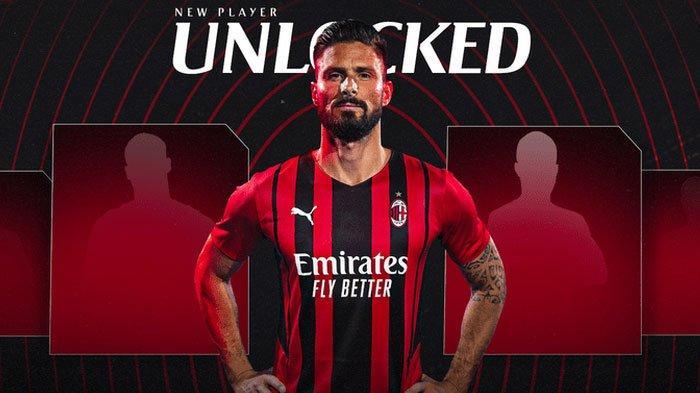 Kesan Menarik Giroud untuk AC Milan, Seakan Tak Menyesal Tinggalkan Chelsea, Cuma Butuh 5 Menit