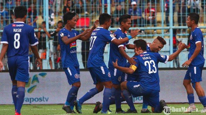 Arema FC Agendakan Gelar Uji Coba Lawan Madura United Pekan Depan,Panasi Mesin sebelum Kompetisi