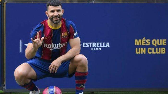 Terungkap Alasan Sergio Aguero Tak Mewarisi Nomor Punggung Lionel Messi, Bukannya Tidak Mau?