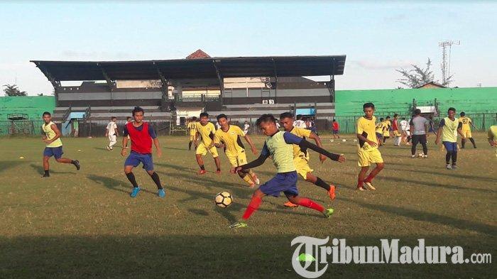 Persiapan Kompetisi Liga 2 2019,Madura FC Butuh Sosok PemainGelandang Bertahan dan Menyerang
