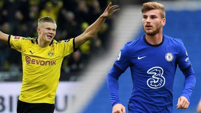 Ambisi Chelsea Datangkan Erling Haaland, Bikin Timo Werner Baper dan Sadar Diri, Akui Tak Bahagia?