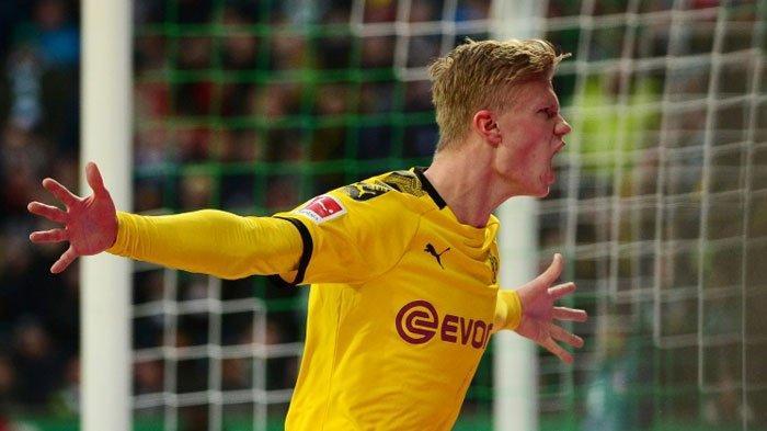 Bocah Lahir Tahun 2000, Erling Haaland Catatkan Penampilan Impresif Bersama Borussia Dortmund