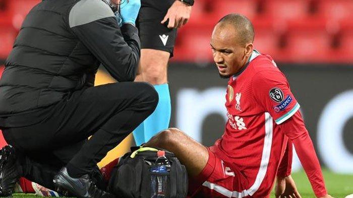Pertahanan Liverpool Makin Keropos, Fabinho Alami Cedera, Hanya ada Satu Bek Tengah dan Pemain Muda