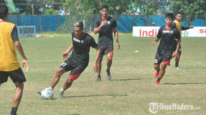 Madura FC Vs PSBS Biak, Madura FC Manfaatkan Momentum Bangkit dari Keterpurukan: Kami Bisa