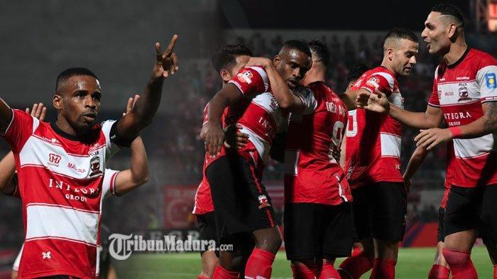 Sempat Bermain Imbang, Madura United Berhasil Kalahkan PS Tira Persikabo 1-0, Buah Gol Manis Greg