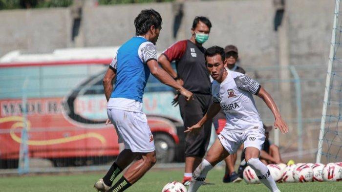 Persiapan Piala Menpora 2021, Madura United Gelar Pemusatan Latihan di Kota Batu Akhir Februari