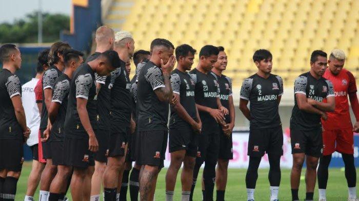 Madura United Dijadwalkan Gelar Latihan Perdana setelah Libur Lebaran 2021 di Pamekasan Pekan ini
