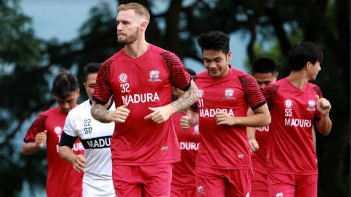 Madura United JadikanPiala Menpora 2021 sebagai Batu Loncatan Persiapan Tim Jelang Kompetisi