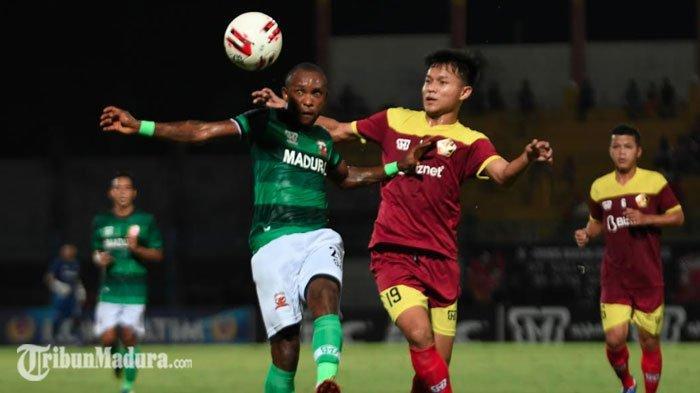 Madura United Diminta Tampil Ngotot Lawan Persebaya, Kemenangan Atas Persik Kediri Jadi Motivasi
