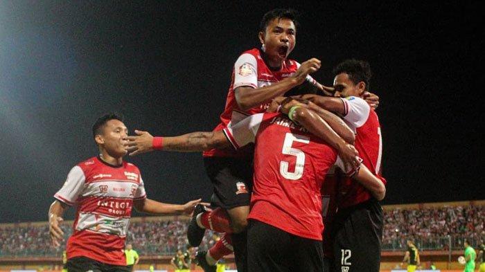 Link Live Streaming Madura United Vs Persiraja, Misi TimTuan Rumah ke Puncak Klasemen Liga 1 2020