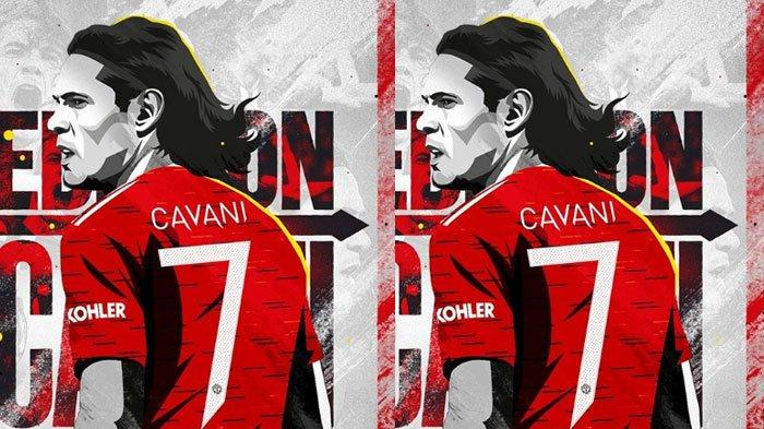 Pakai Nomor Keramat Manchester United, Edinson Cavani Ternyata Bukan Mengincar Gaji Tinggi