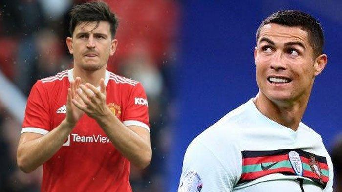 Tanda Tanya Kapten Manchester United, Harry Maguire Lepas Ban Kapten untuk Cristiano Ronaldo?