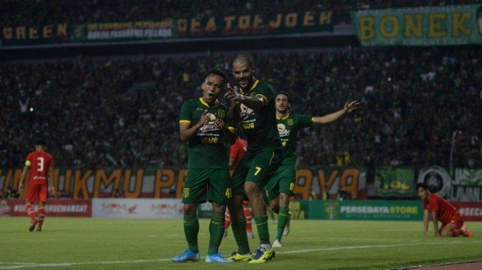 Ditutup Irfan Jaya, Persebaya Surabaya Hancurkan Sabah FA Malaysia di Depan Lebih 50 Ribu Bonekmania