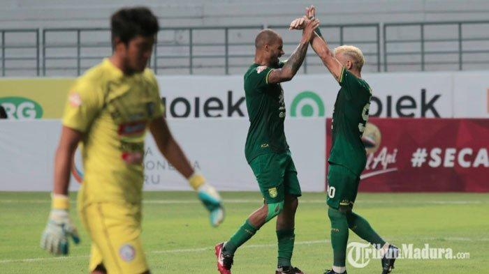 Skor 4-1, Arema FC Kandas di Tangan Persebaya, Pelatih Persembahkan Kemenangan untuk Bonek Mania