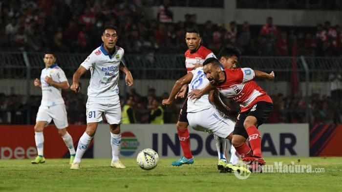 Persib Bandung Kalah dari Madura United 2-1, Kapten Persib Sebut Kalah Terhormat, Singgung Wasit