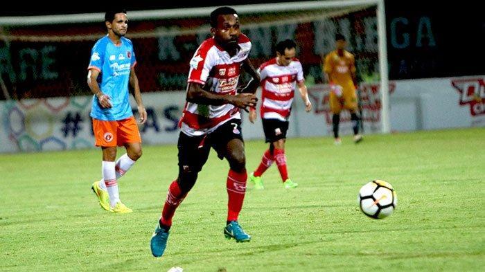 UPDATE SKOR PS Tira Persikabo Vs Madura United, Andy Setyo Bawa Tuan Rumah Unggul Sementara