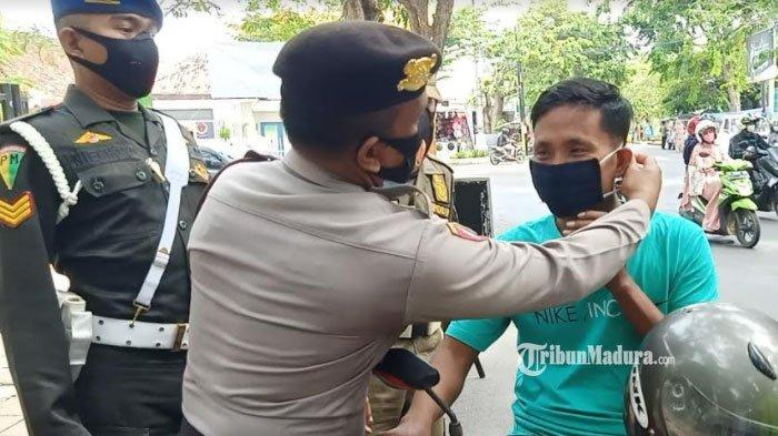 Simak Lokasi Pembagian Masker Gratis di Pamekasan oleh TNI-Polri dan Pemkab selama 10 Hari ke Depan