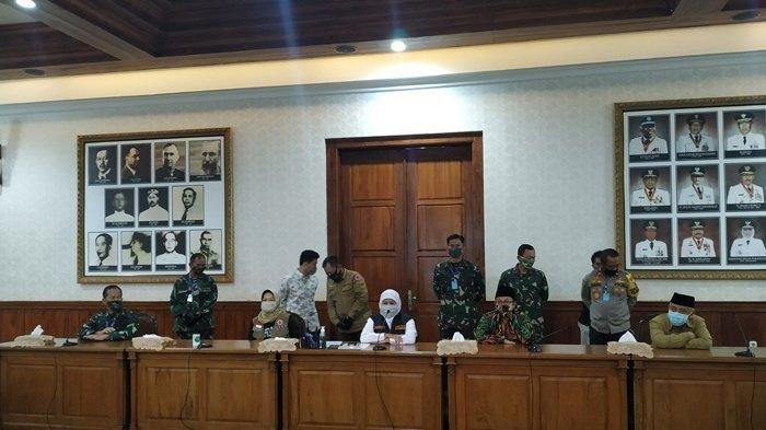 Sepakat PSBB Malang Raya, Gubernur Khofifah akan Kirim Pengajuan ke Kemenkes Besok Pagi