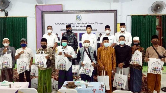 Bangkalan Darurat Covid-19,Anggota DPRD Jatim Dapil Madura Gencarkan Sosialisasi Penanganan Corona