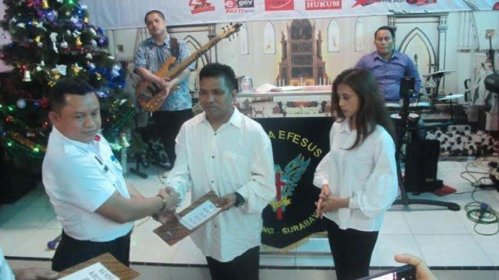 Sebanyak 24 Warga BinaanRutan Klas I Surabaya Dapat Remisi Natal, Satu di Antaranya Langsung Bebas
