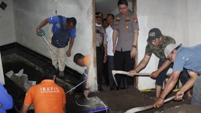 Kasus Pembunuhan Surono Jember yang Jasadnya Dicor di Bawah Musala, Polisi Masih Selidiki Motif
