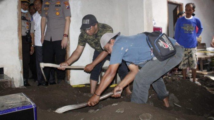 Inilah Fakta Sebenarnya Pembunuhan Sadis Surono Warga Jember yang Jasadnya Dicor di Kuburan Musala
