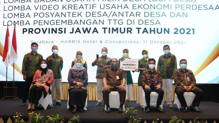 Berikut Daftar Pemenang Lomba Desa dan Kelurahan di Jawa Timur