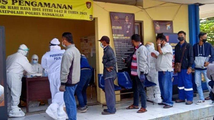 Hasil Penyekatan di Pelabuhan Kamal Bangkalan dan Tanjung Perak Surabaya, 4 Orang Dinyatakan Reaktif