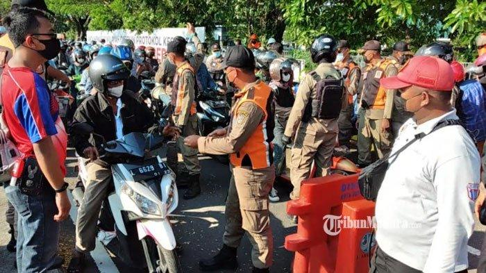Diduga Terjadi Kericuhan di Posko Penyekatan Suramadu, Warga Berebut KTP, Ini Kata Polda Jatim