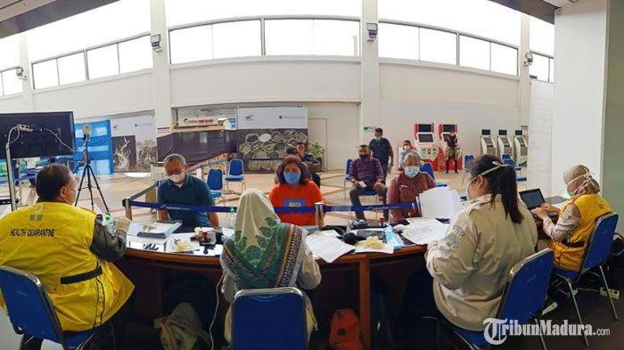 Penumpang diBandara Soekarno Hatta Menumpuk, Pemandangan Berbeda Terjadi diBandara Juanda Surabaya