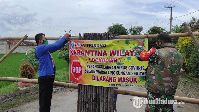 Kisah Satu Keluarga di Desa Trisono Ponorogo Terpapar Covid-19, Pemdes Terapkan Karantina Wilayah