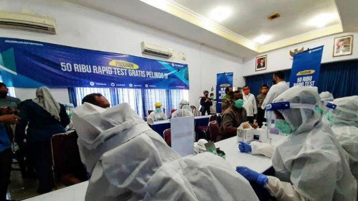 Antisipasi Penyebaran Covid-19, Ribuan Nelayan dan Kru Kapal di Probolinggo Ikut Rapid Test Gratis