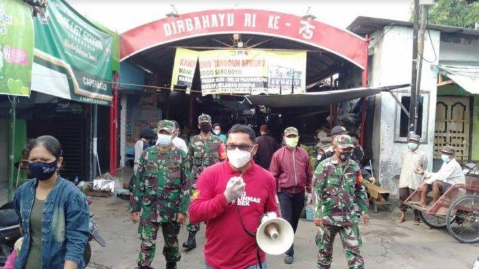 Hasil Pemantauan Camat Tambaksari Terkait Penerapan Protokol Kesehatan: Masker Harus Dipakai Benar