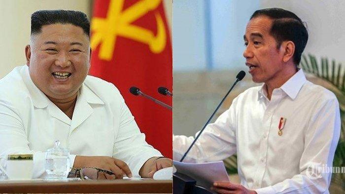 Presiden Jokowi Kirim Bunga untuk Kim Jong Un, Ucapkan Selamat Hari Kemerdekaan Korea Utara