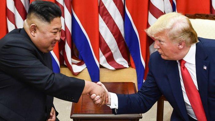 Hubungan Spesial Pemimpin Korea Utara Kim Jong Un dengan Presiden Amerika Serikat, Donald Trump