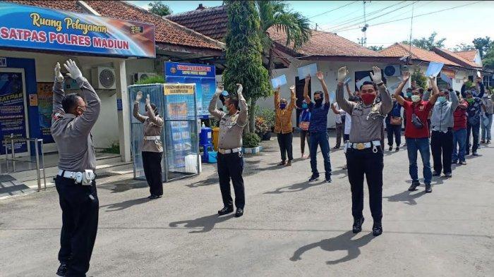 Mulai Hari Ini, Kamis 9 April 2020, Pelayanan SIM di Satpas Polres Madiun Kembali Dibuka