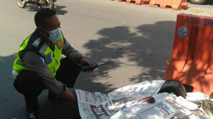 Gadis Ini Menangis Tahu Pacarnya Tewas dalam Kecelakaan di Semarang, Diduga Honda CBR Melaju Kencang