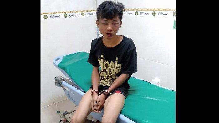 Pindahkan Helm dan Jaket, Pemuda Sidoarjo ini Babak Belur Dihajar Warga di Wilayah Taman
