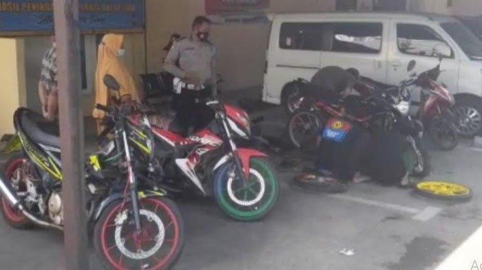Para Pemilik Motor di Area Balapan Liar Datangi Mapolres Tuban, Polisi: Motor Keluar Harus Standar