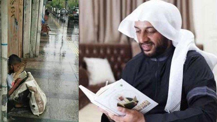 Syekh Ali Jaber Gembira Bertemu Pemulung Muhammad Gifari Akbar, Bakal Disiapkan Jadi Imam Besar