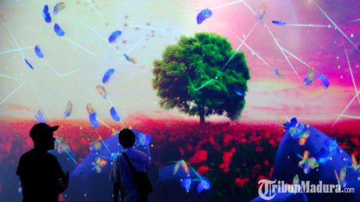 LiburNatal dan Tahun Baru di Kota Batu? Cobain Datang keGlow Garden Spektakuler Jatim Park 3 Yuk!