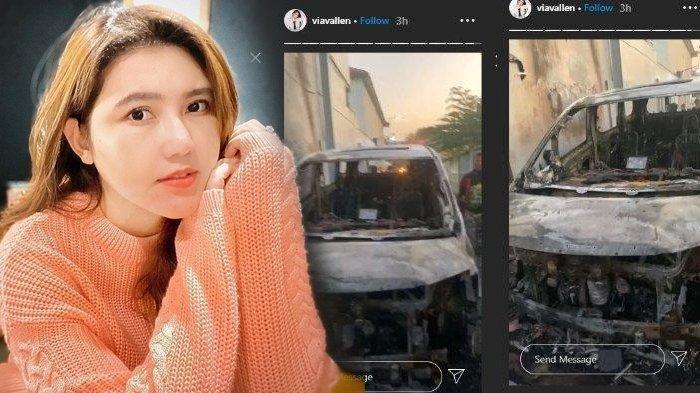 5 FAKTA Terduga Pembakar Mobil Via Vallen, Bicara Melantur Saat Diinterogasi Polisi & Perilaku Aneh