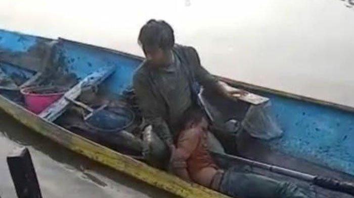 Maling Motor Nangis Histeris saat Ditangkap Polisi, Sempat Lompat ke Sungai Agar Tak Ditangkap