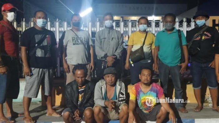 Meresahkan Warga, Tiga Pria Akhirnya Digerebek di Sebuah Rumah, Polisi Sita Sejumlah Barang Bukti