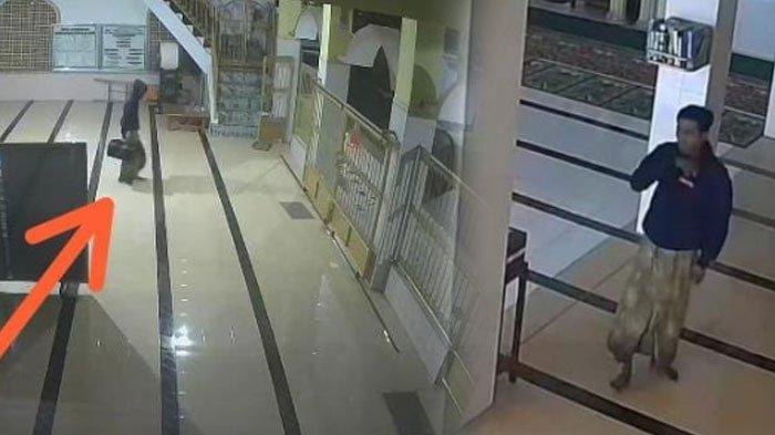 Reskrim Polres Pamekasan Masih Selidiki Pencurian Kotak Amal Masjid di Pamekasan, Periksa Saksi